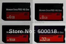 h2testw test real Capacity MS HG 4GB 8GB16GB 32GB 64GB Memory Stick Pro Duo Memory Cards  for sony  psp phone tablet camera