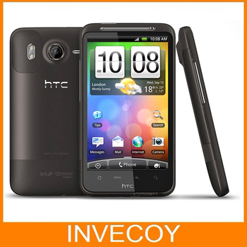"""G10 Original HTC Desire HD A9191 unlocked mobile phone WIFI GPS android  bluetooth 8MP 4.3""""LCD touchScreen  freeship free"""