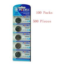 Buy 500Pcs/100Pack PKCELL CR2025 3V Lithium Battery BR2025 ECR2025 CR2025 Battery for $92.99 in AliExpress store