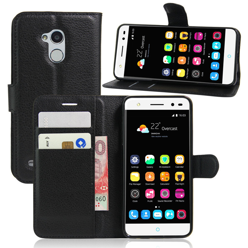 Case ZTE Blade V7 Lite Holster PU Leather Stand Flip Protective Phone Bag Skin  -  Friend Store store