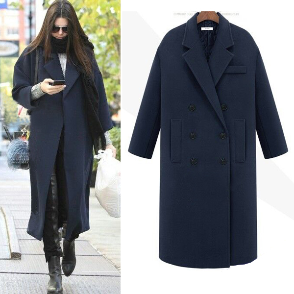Black Wool Coats Ladies