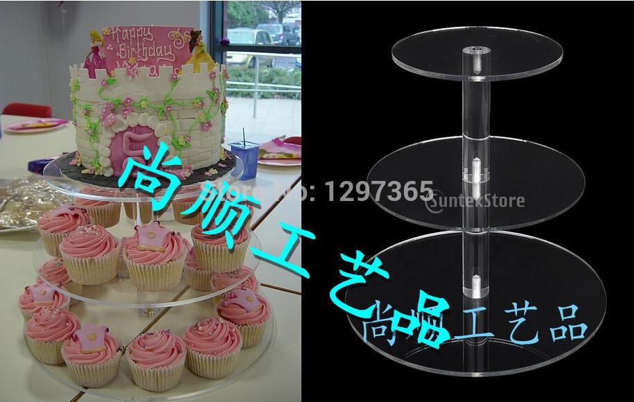 Cupcake stand at wedding
