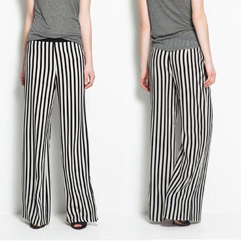 Fantastic Wide Leg Pants Jeans Women Plus Size Loose Denim Baggy Jeans Elastic High Waist Long Pants For ...