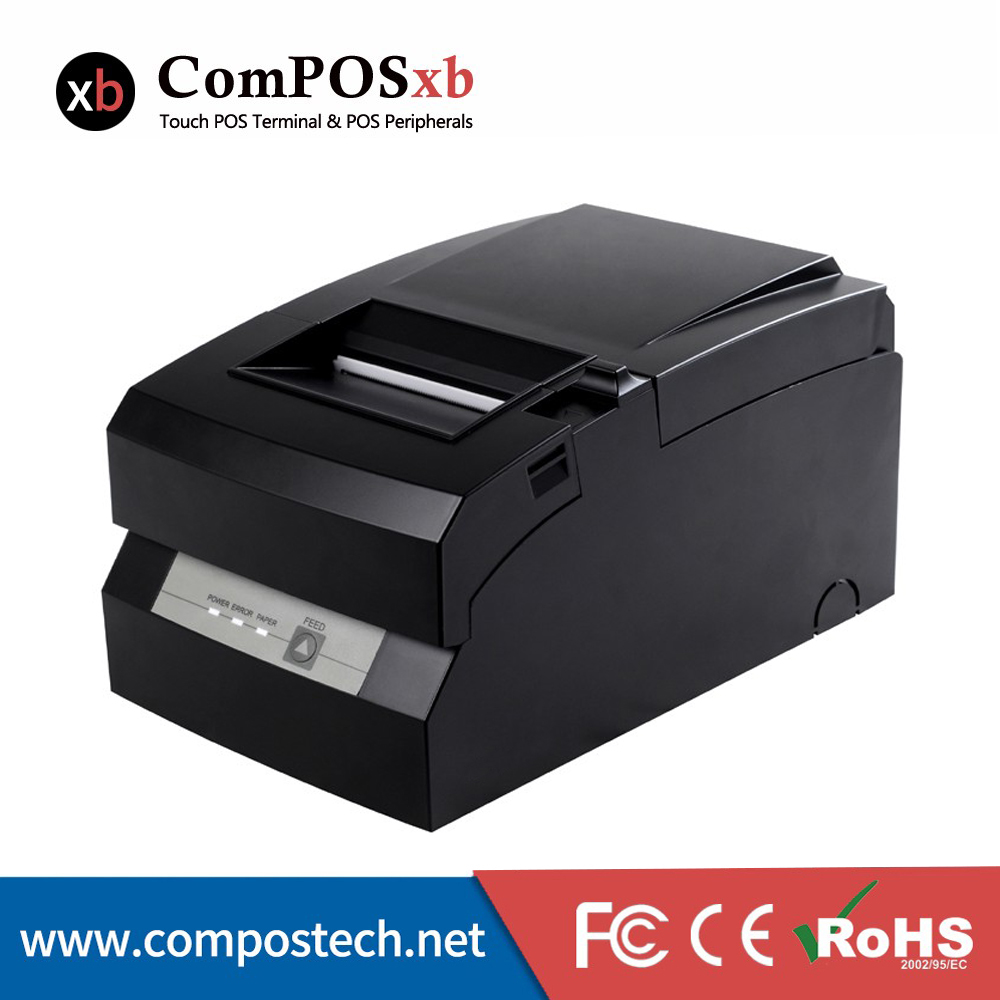 76mm dot matrix impact printer easy paper loading high printing/high performance easy printer with double color printing(China (Mainland))