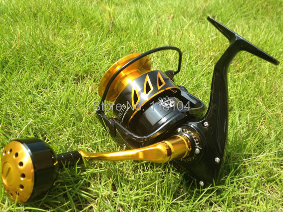 New japanese made HOTS Saltist CW10000 Game spinning Jigging Reel 10BB Alloy reel(China (Mainland))
