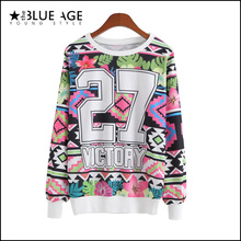 sweatshirt 2015 autumn winter casual hoodies women print long sleeve tracksuits o-neck jogging suits for women adventure time (China (Mainland))
