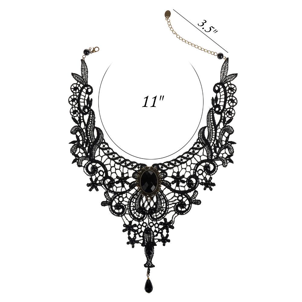 Vintage Lolita Lace Choker Necklace