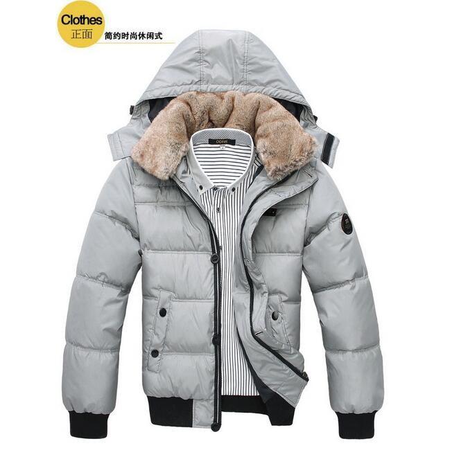 2016 moda erkekler kalınlaşma sıcak kapüşonlu pamuk dolgulu giysiler/Erkek saf renk slim fit sıcak pamuk ceket/eğlence ceket