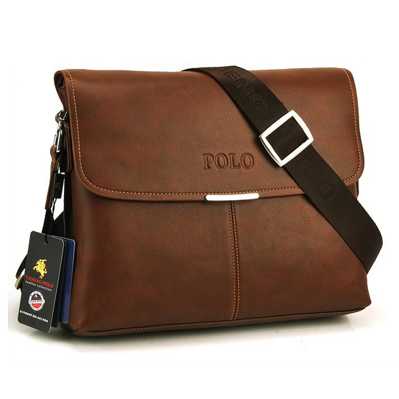 2015 Hot Selling High Quality PU leather messenger bag fashion mens shoulder bag casual briefcase #3001-3<br><br>Aliexpress