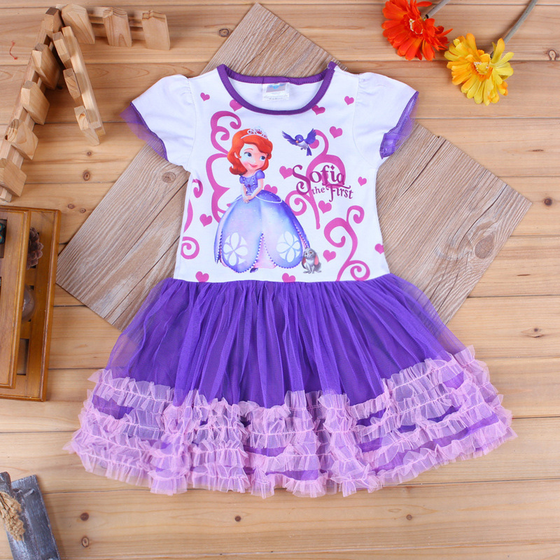 Princess sofia dress costume vestido princesa sofia disfraz princesa sofia vestido de festa infantil roupas infantil meninas<br><br>Aliexpress