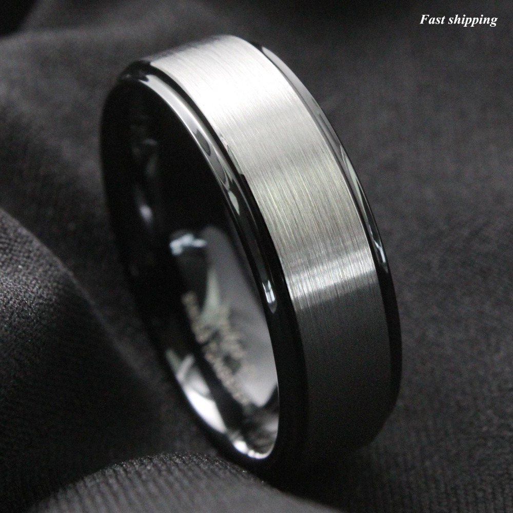 aliexpress buy 8mm black brushed titanium color