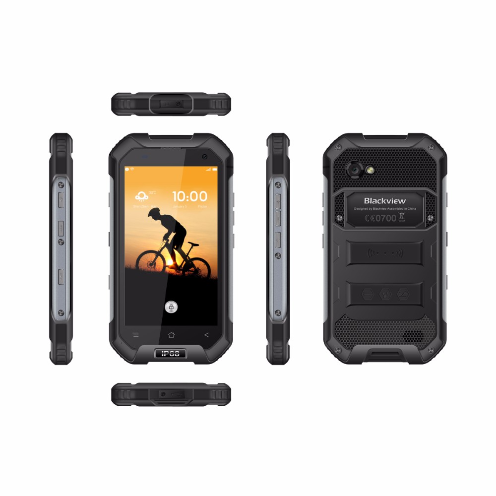 Blackview BV6000S Mobile phone 4G LTE Waterproof IP68 4.7″ HD Smartphone MT6737 Quad Core Android 6.0 Cell Phone 2GB+16GB 8MP