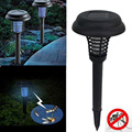 Solar Powered Insect Killer LED UV Mosquito Killer environmentally Lamp Outdoor Garden Insect Pest Bug Zapper