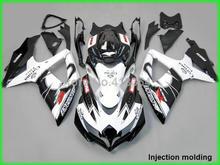 Buy Fit Suzuki injection molding fairings GSXR 600 750 2008 2009 2010 white black fairing kit GSXR 750 08 09 10 YZ10 for $339.48 in AliExpress store