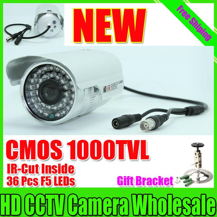 "Free shipping 2014 NEW 1/3"" SONY CMOS 1000TVL Waterproof Outdoor security camera IR 30 meter CCTV Camera Security Camera(China (Mainland))"