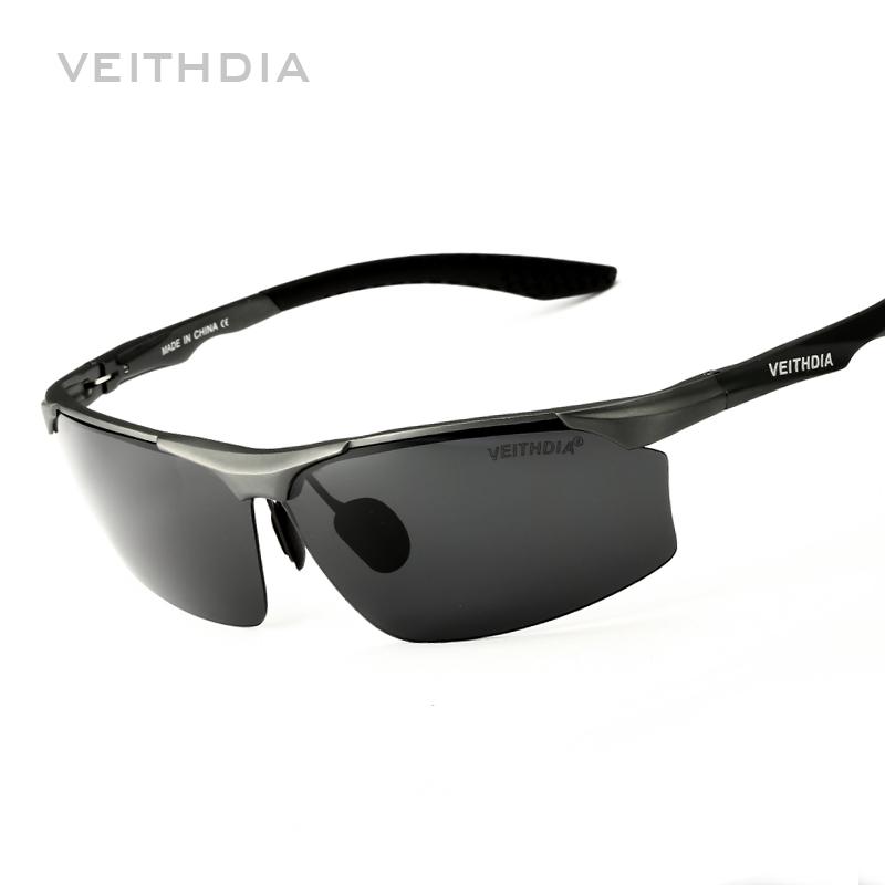 mens sport glasses  Aluminum Magnesium Brand Polarizerd Mens Sunglasses Sport Sun ...
