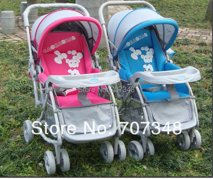 Hot Sale on Aliexpress!!Can Afford 25KG,6 Colors for Choosing,High Seat Stroller,Four Wheels Baby Stroller,High Seat Pushchairs<br><br>Aliexpress
