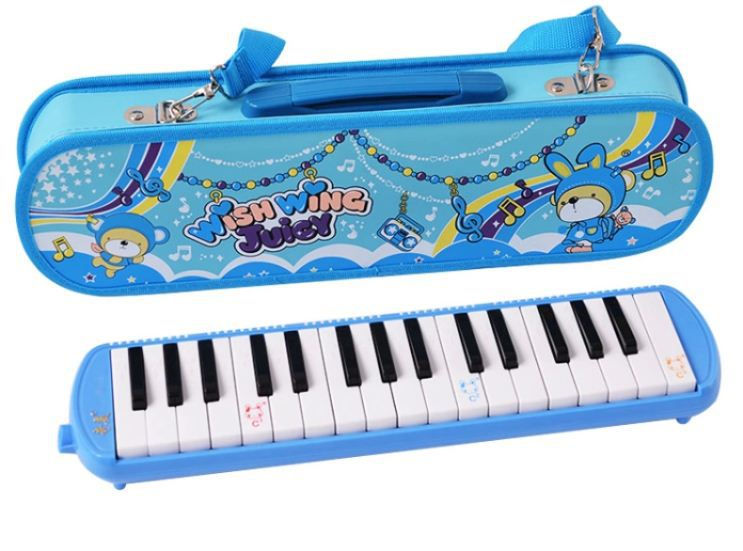 Губная гармошка China Brand New melodica 34,7 32 melodica 32 swan 37 keys melodica black color teaching music fundamentals mouth organ melodica musical instruments accordion accessories