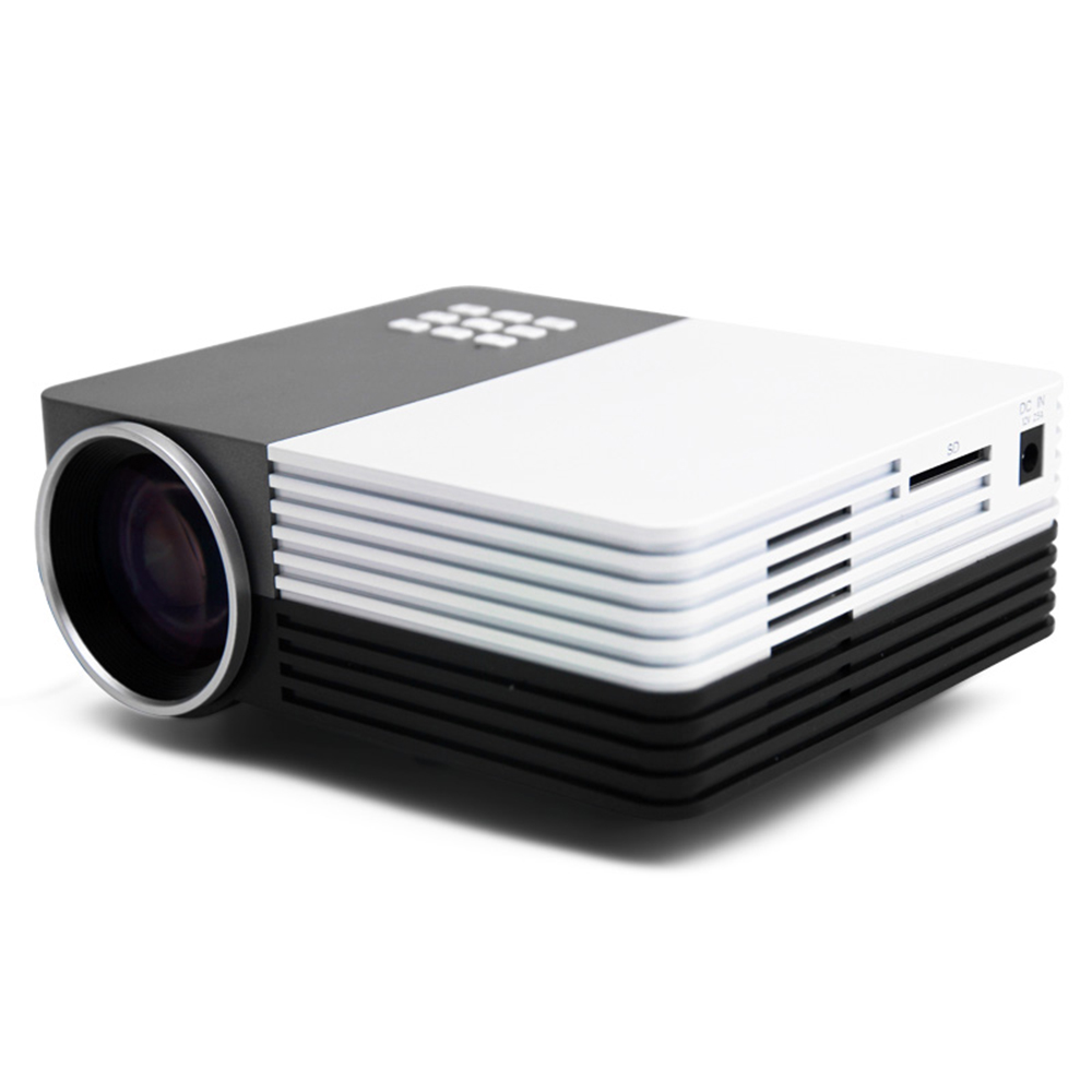 2015 New GM50 Mini LED Projector projektor proyector Theater For Projectors Movie Support HDMI VGA AV Portable beamer Wholesale