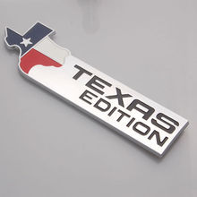 Auto Texas Edition Emblem Badge Sticker for F150 F250 F350 F450 F550 expedition(China (Mainland))
