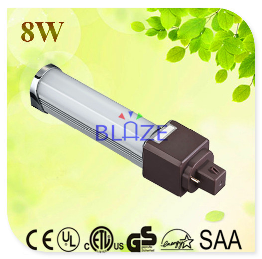 Descuento 100 unids lote 8 w g24 2 pin 4 pin llev enchufe for Bombilla led g24 2 pin