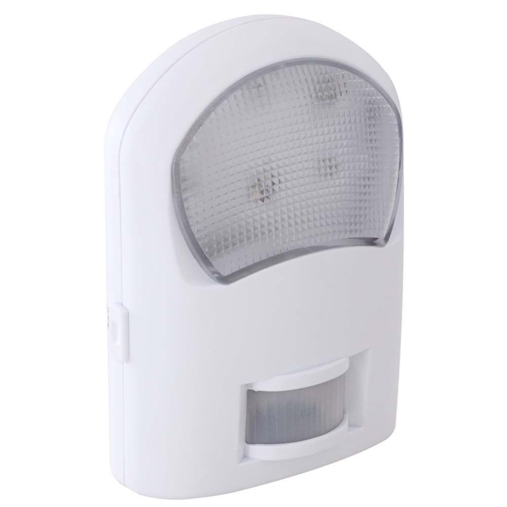 motion sensor led porch light 8leds safety lighting 1w 5m. Black Bedroom Furniture Sets. Home Design Ideas