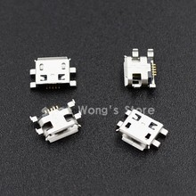 10pcs Micro USB 5pin B type Female Connector For Mobile Phone Micro USB Jack Connector 5 pin Charging Socket(China (Mainland))