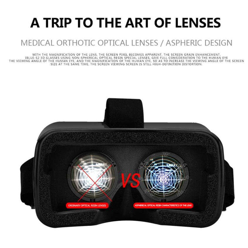 Best Price ! new VR BOX Virtual Reality 3D Glasses For iPhone 7 Plus for 4-6.5 Inch Screen CellPhone high quality 45DEC14(China (Mainland))