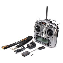 RC FrSky TARANIS X9D PLUS 2.4GHz ACCST 16ch Digital Telemetry Transmitter Radio System with Receiver X8R for RC Quadcopter Toy