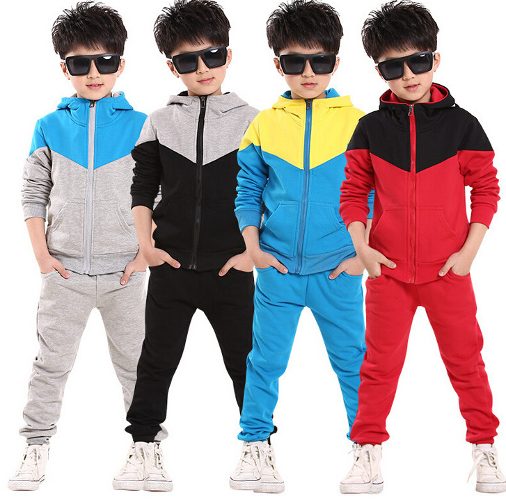 2014 new spring autumn outwear children 2 pcs suit boys clothing set hoodie+pants baby set kids sport suit Retail(China (Mainland))
