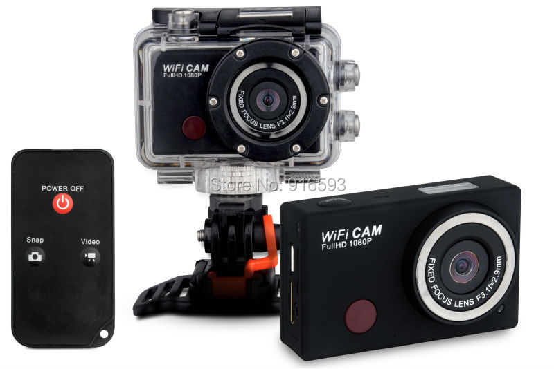 Gopro Hero 3 Style Extreme Action Wifi Sport Camera Waterproof 1080P Full HD