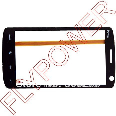 For HTC HD T8282 Touch Screen Digitizer ; 100% original; by free shipping(China (Mainland))