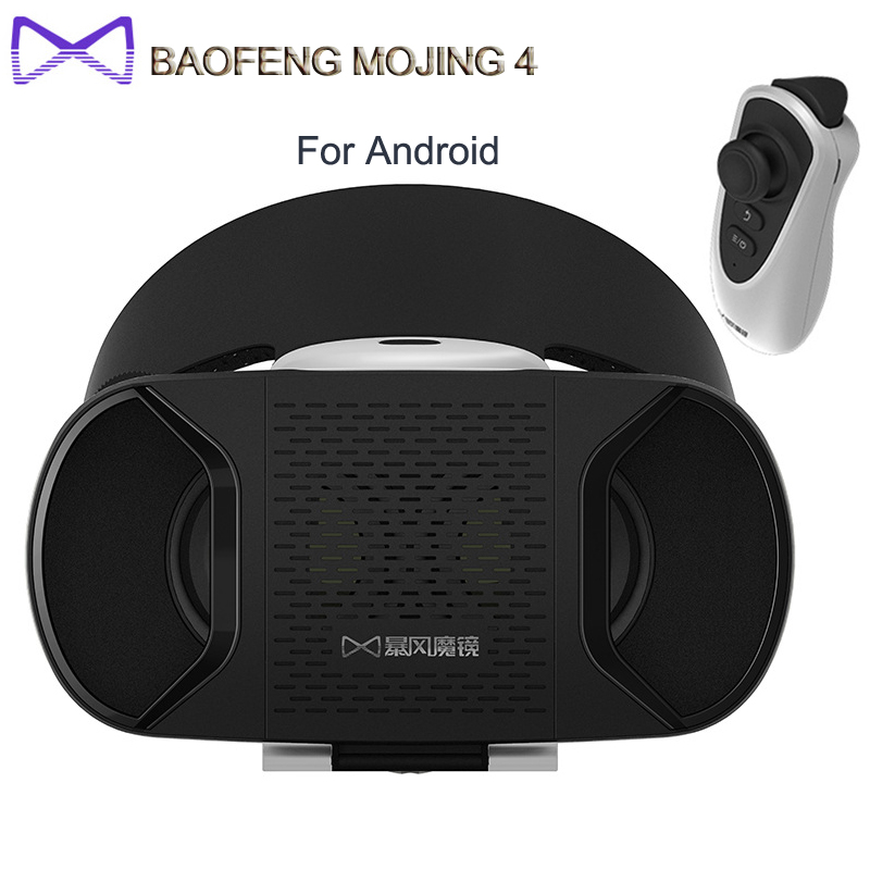 [IN STOCK] Original BaoFeng MoJing 4 3D VR Glasses Reality Goggles For Android Version  Compitible 4.7 - 5.5 inch Smartphone<br><br>Aliexpress