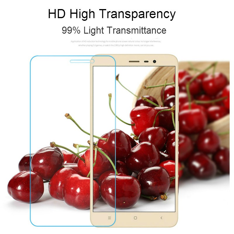 Ultra-Thin 2.5D 0.26mm Premium Tempered Glass for Xiaomi Mi 2s 3 4 4i 4c Mi5 Redmi Note 2 3 Redrice Redmi 2 3 pro + Clean Kits