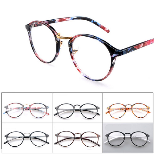 Retro round glasses round lens female gafas unisex reading galss women oculos brand designer men vintage glasses(China (Mainland))