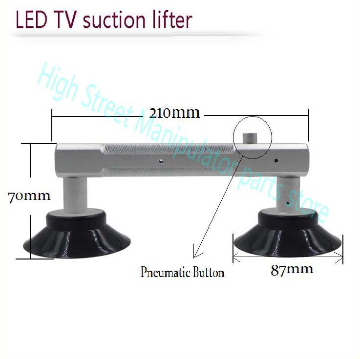 LED TV sucker. LCD double sucker handle. Glass sucker Conductive . Super suction!1-5 hours would not fall off!(China (Mainland))