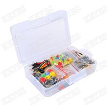 Стартовый комплект для Arduino резистор / из светодиодов / конденсатор / перемычек / макет резистор с розничной(China (Mainland))
