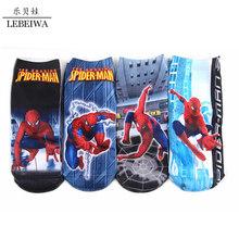 Spiderman Warm Winter Kids Socks Cartoon Spiderman 4-9 Years Children Baby Socks Cute Boys Girls Cotton Socks Christmas Gift