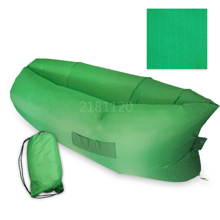 20pcs Inflatable Outdoor Pads Air Sleep Sofa Couch Portable Furniture Sleeping bag Hangout Lounger Inflate Air Bed Imitate(China (Mainland))