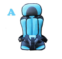 Portable Baby Safety Seat Children's Chairs In The Car,updated Version,thickening Sponge Kids Car Seats(China (Mainland))