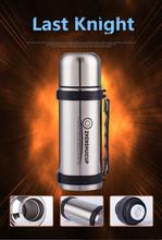 1200ml Portable Stainless Steel Water Bottle Leaking Proof Outdoor Travel Kettle Sport Drinkware Mug Coffee Tea Water Pot