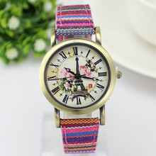 New Arrive Bohemia Vintage Women Watch Fashion Leather Sport Quartz Watch Cartoon Women Dress Watches Brass