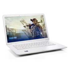 Fashionable Super Thin Mini Laptop Computer 14 inch with J1800 2.41GHz Processor 2G RAM 160GB HDD Notebook White/Black/Silver (Hong Kong)