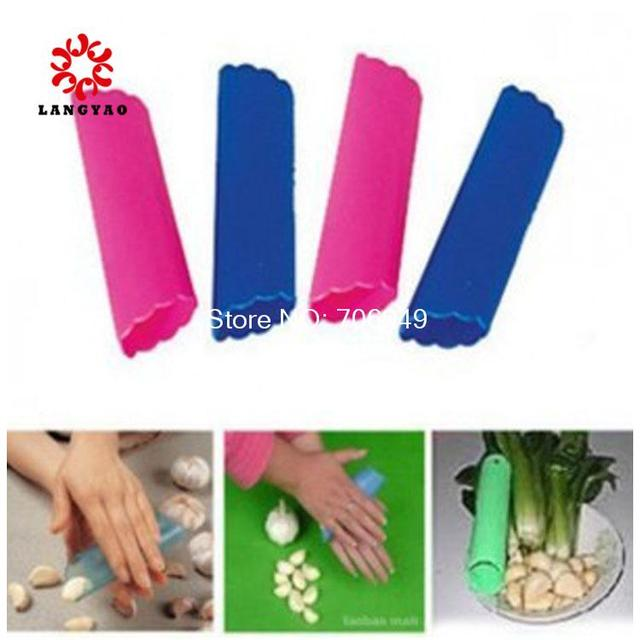 5pcs Novelty Households Garlic Peeler Kitchen Fruit Vegetable Cooking Tools --  KCP11 PR30 Wholesales