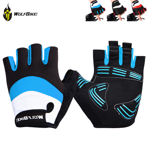 Гаджет  WOLFBIKE Brand Non-slip Short Gloves Road MTB Motorcycle Cycling Bike Bicycle Racing Riding Breathable Half Finger Gloves None Спорт и развлечения