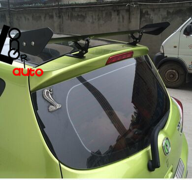 BLACK ALUMINUM REAR SPOILER WING for UNIVERSAL car <br><br>Aliexpress