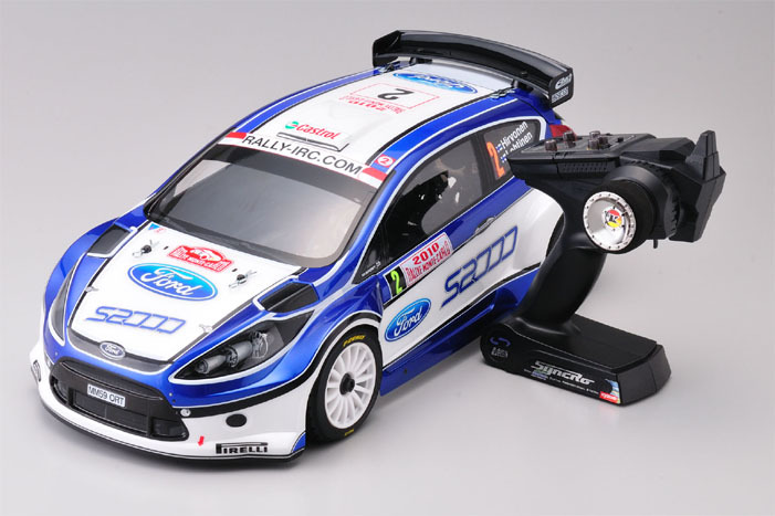 KYOSHO 1/9 R/C 18 Engine Powered 4WD Rally Car / DRX 2010 FORD FIESTA S2000 / with Syncro KT-200 Transmitter(China (Mainland))