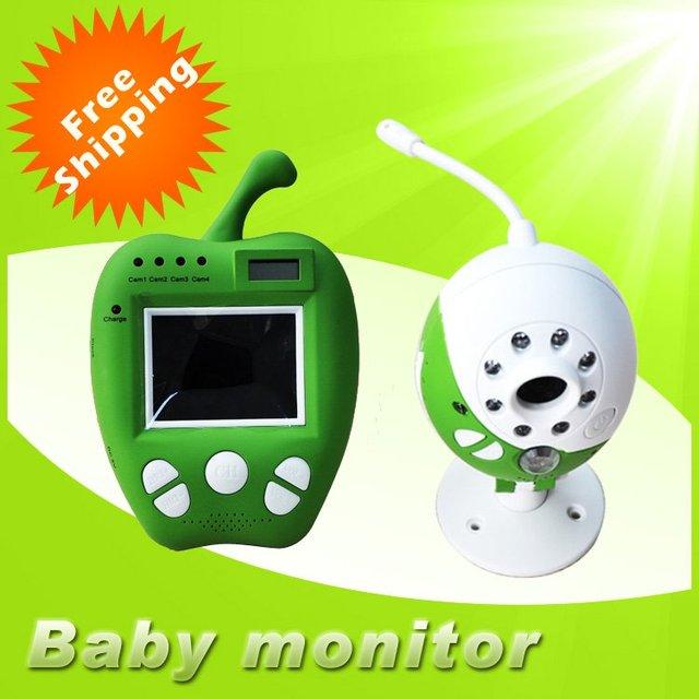 Free shipping Video monitor baby monitor Wireless WiFi Digital Baby Monitor