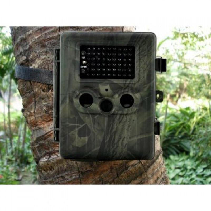 HT-002LIG Hunting Camera 3G WCDMA GPRS MMS SMTP/SMS 12MP 1080P 60 Degrees PIR Sensor Sight Angle Wildlife Trail Cameras(China (Mainland))