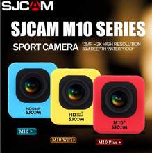 SJCAM M10 Series M10 Cube & M0 WIFI & M10 Plus 2K Video Resolution Mini Action Camera Waterproof Camera 1080P Sport DV